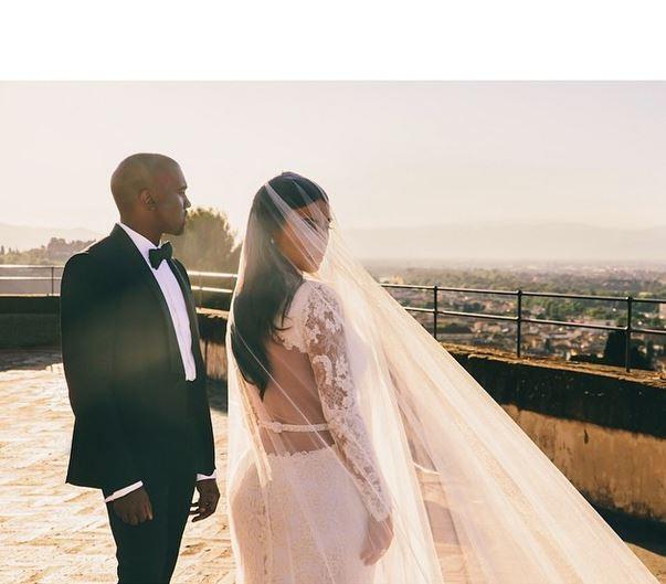 Kanye West e Kim Kardashian (Foto: Reprodução/ Instagram)