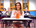 Mariana Rios arrasou no Cup Song! Envie seu vídeo! (Caldeirão do Huck/TV Globo)