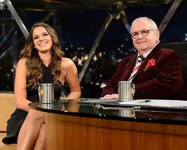 Bruna Marquezine comenta participação em trailer de filme (TV Globo/Programa do Jô)
