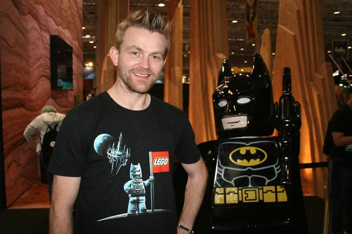 Arthur Parsons, produtor de Lego Batman 3: Beyond Gotham (Foto: TechTudo/Felipe Vinha)