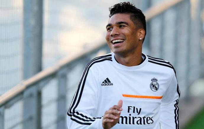 Casemiro Real Madrid (Foto: Reprodução / Site Oficial)