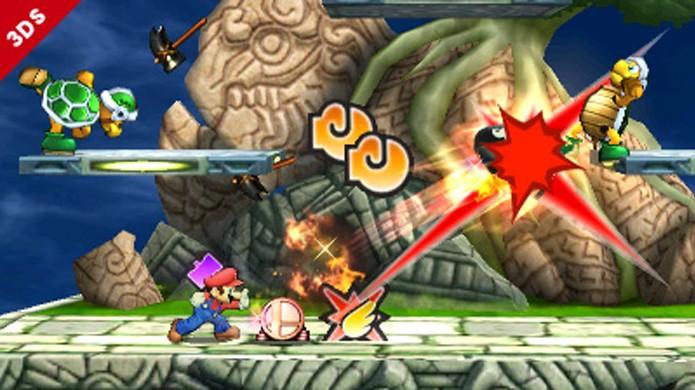 No modo Smash Run derrotar inimigos deixa você mais forte (Foto: Divulgação)