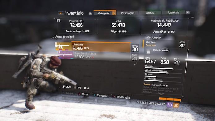 The Division: armas avançadas podem ser encontradas em baús na Zona Cega (Foto: Reprodução/Victor Teixeira)