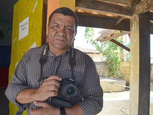 Instrutor do curso Paulo Gil (Foto: Fabiana Figueiredo/G1)