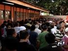 Com voto biométrico, mais de 850 mil eleitores vão às urnas em Goiânia