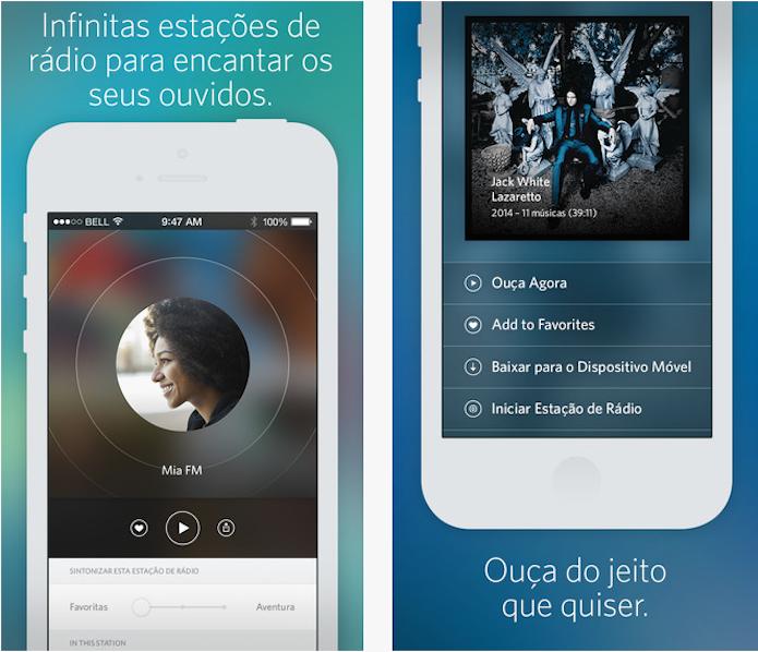 Rdio agora oferece acesso a estações de rádio gratuitamente (Foto: Divulgação/AppStore) (Foto: Rdio agora oferece acesso a estações de rádio gratuitamente (Foto: Divulgação/AppStore))