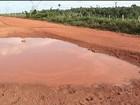 População que vive às margens da Estrada do Arroz reclama da rodovia