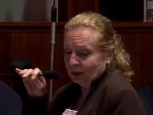 Vereadora suplente Emília Rodrigues, que assumiu mandato nesta terça-feira em Mogi das Cruzes, pretende apresentar projeto de lei (Foto: Reprodução/ Câmara de Mogi)