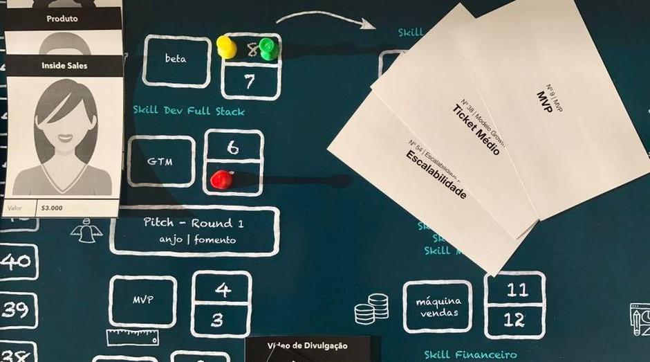 """O jogo """"Startup Mundi"""" simula a criação e gestão de uma startup (Foto: Divulgação)"""