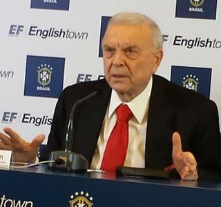 José Maria Marin, presidente da CBF (Foto: Martín Fernandez)
