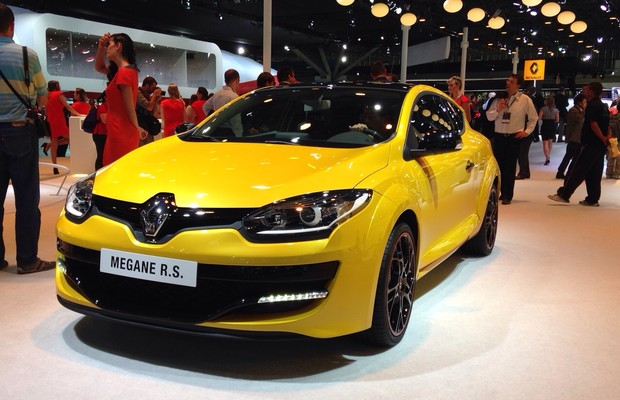 Renault Mégane RS no Salão do Automóvel 2014 (Foto: Julio Cabral/Autoesporte)