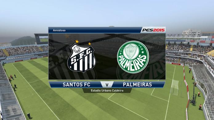 PES 2015: veja a simulação das finais do Campeonato Paulista (Foto: Reprodução/Murilo Molina)