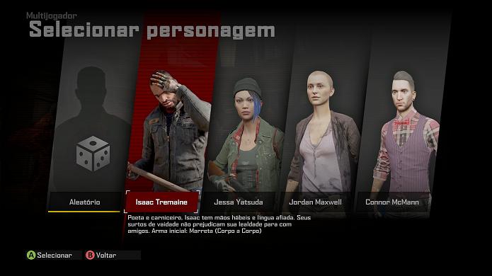 Dead Rising 4: multiplayer tem personagens únicos (Foto: Reprodução/Victor Teixeira)