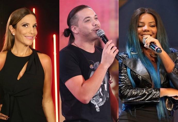 Ivete Sangalo, Wesley Safadão e Ludmilla (Foto: Gshow)