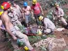 Jovem é resgatada de gruta a 300 metros de profundidade, em Goiás