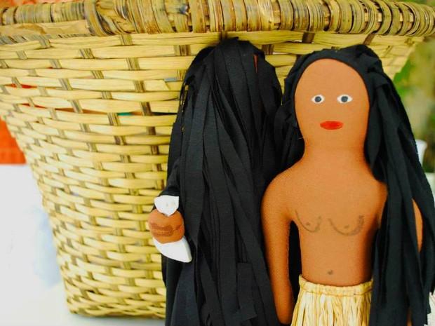 A lenda da feiticeira Matinta Perera ganhou versão em boneco de pano (Foto: Divulgação/ Ionaldo Rodrigues)