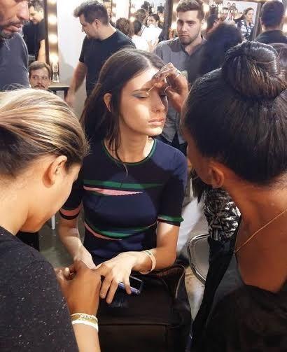 Isabella Ridolfi, de 21 anos, é a modelo recordista da 41ª edição do SPFW ao participar de 22 desfiles (Foto: Divulgação)