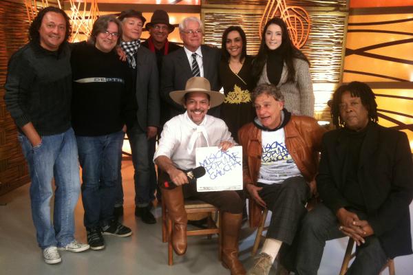 Músicos convidados para o programa (Foto: Fernando Alencastro/ RBS TV)