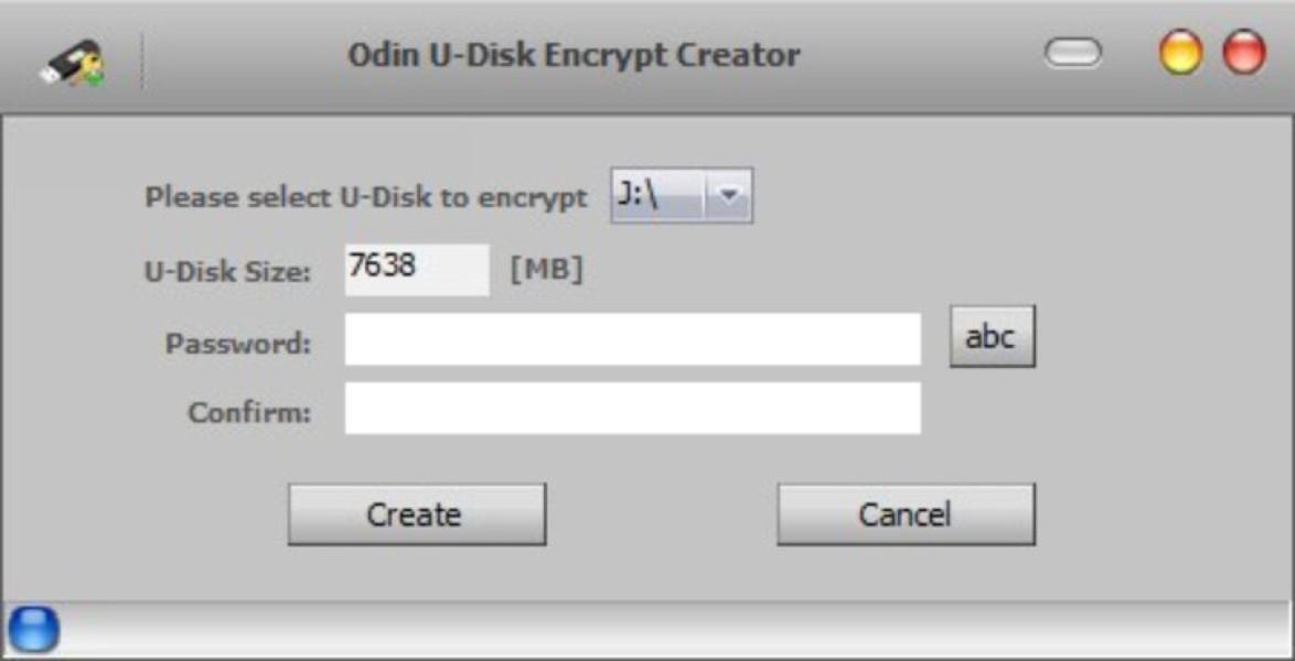U disk encrypt creator v6.6.2 software serial key