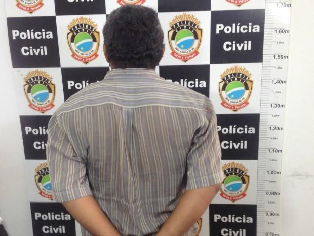 Suspeito diz que criança se insinuava para ele (Foto: Graziela Rezende/G1 MS)