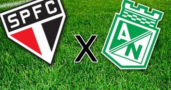 São Paulo e Atlético Nacional se enfrentam pela Libertadores (Foto: Reprodução / Internet)