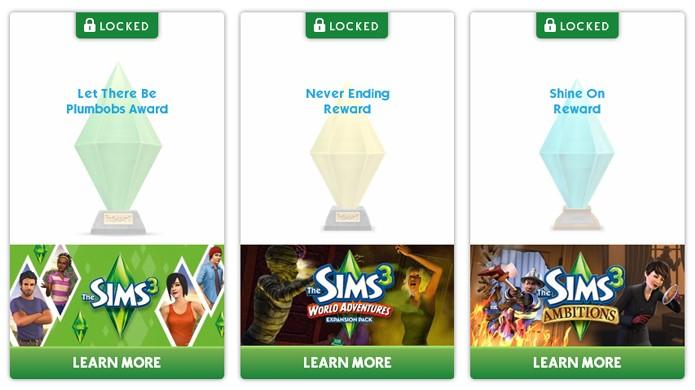 Cada jogo liberará uma luminária diferente em The Sims 4 (Foto: Reprodução)