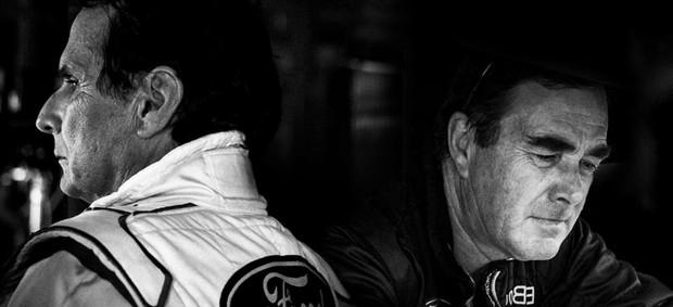 Nelson Piquet e Nigel Mansell (Foto: Divulgação)