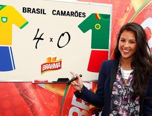 Yanna Lavigne  palpite  Brasil x Camarões (Foto: Divulgação)