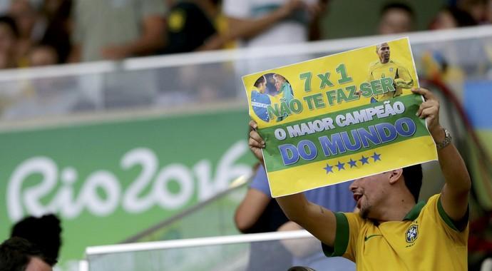 Brasil x Alemanha - Final Olimpíada Rio 2016 (Foto: Reuters/ Bruno Kelly )