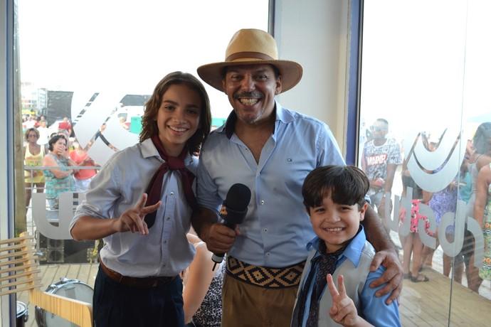 Neto Fagundes, The Voice Kids, Galpão Crioulo, Arena de Verão (Foto: Jessica Mello/G1RS)