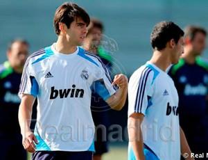 Kaká treino Real Madrid (Foto: Reprodução / Site Oficial)