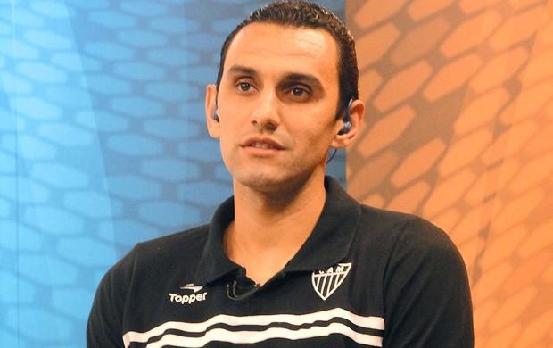 Rafael Marques zagueiro do Atlético-MG (Foto: Fernando Martins / Globoesporte.com)
