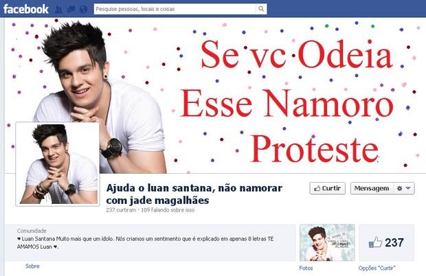 Luan Santana (Foto: Reprodução / Facebook)
