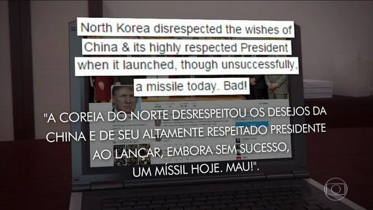EUA e Coreia do Sul fazem exercícios militares após Coreia do Norte testar novo míssil