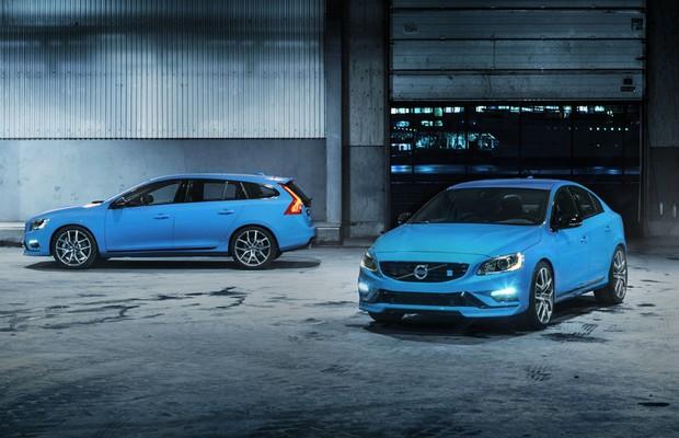 Volvo V60 e S60 Polestar (Foto: Divulgação)