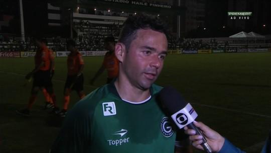 """Juan estreia com derrota no Goiás e lamenta: """"Não fomos competentes"""""""