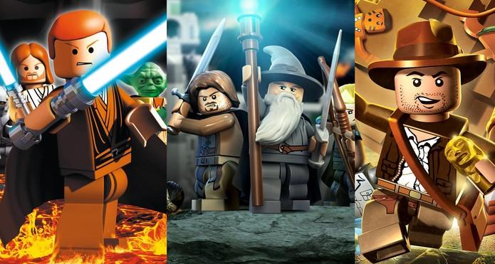Lego: confira os melhores jogos dos blocos de montar (Foto: Arte/ TechTudo)