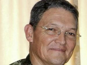 O general Alzate é o militar de mais alta patente já capturado pela guerrilha (Foto: AFP)