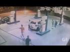 Dois jovens são detidos após assalto a posto de gasolina em Caçapava, SP