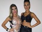 Ensaio da Gaviões tem Ana Paula Minerato, Thaila e ex-BBB Amanda