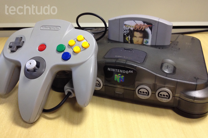 Nintendo 64 (Foto: Lucas Mendes/TechTudo)