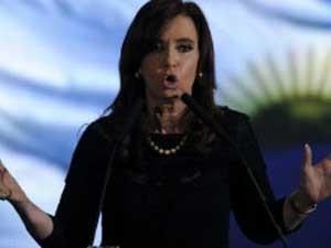 Presidente Argentina Cristina Kirchner: políticas polêmicas de controle de câmbio (Foto: AFP)