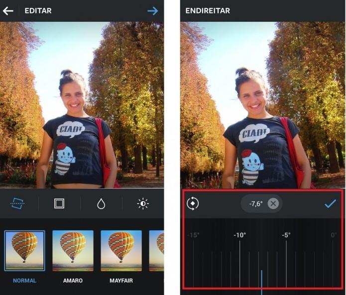 Mudança de ângulo no Android (Reprodução/Taysa Coelho)