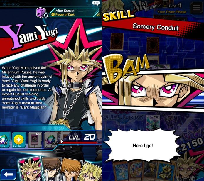 Como liberar as habilidades de cada personagem em Yu-Gi-Oh! Duel