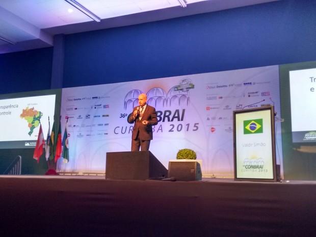 Ministro-chefe da Controladoria-Geral da União (CGU) Valdir Simão (Foto: Thais Kaniak/G1)