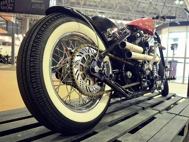 Salão Moto Brasil tem motos customizadas como destaque (Foto: Divulgação)