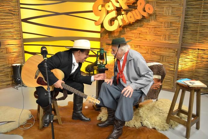 Neto Fagundes Paixão Côrtes Galpão Crioulo  (Foto: Nice Sordi/RBS TV )