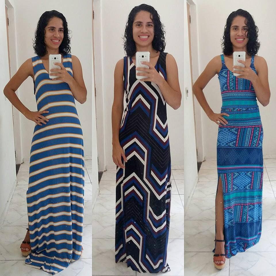 Vendedora divulga venda de roupas nas redes sociais (Foto: Arquivo Pessoal/Josy Vieira)