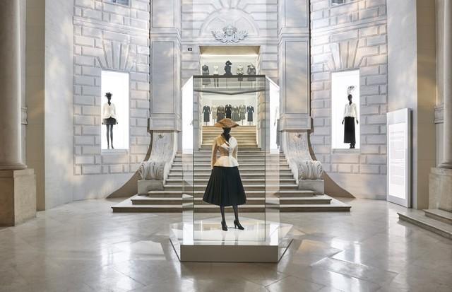 A expo da Dior (Foto: Adrien Dirand)