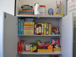 Sala de recurso tem equipamentos de informática, mobiliários e materiais didáticos e pedagógicos (Foto: Krystine Carneiro/G1)